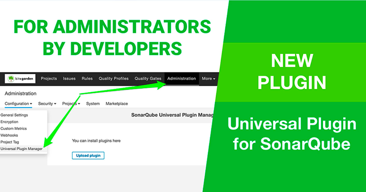 Universal Plugin Manager for SonarQube cover
