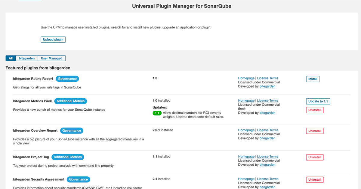 Manage all your plugins cover