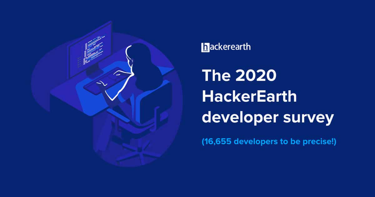 Behind the code - HackerEarth Developer Survey cover